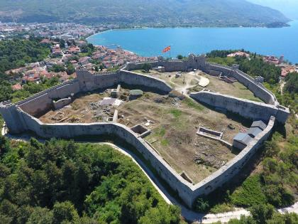 Drone - photo aérienne de Ohrid